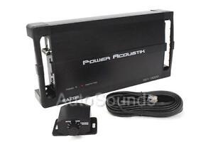 Power Acoustik RZ1-1500D 1500 Watt Monoblock Class D Car Subwoofer Amplifier New