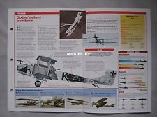 Aircraft of the World Card 68 , Group 14 - Gotha G.IV and G.V