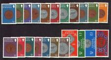 GUERNSEY 1979/83 COINS DEFINITIVE SET OF 22 SG177/198 UNMOUNTED MINT