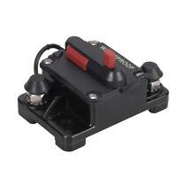 135A 12-48V Voiture Marine Bateau Moto Audio Stéréo En ligne Disjoncteur Fusible