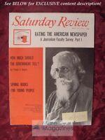 SATURDAY REVIEW May 13 1961 RABINDRANATH TAGORE ARTHUR LARSON GUNTHER SCHULLER