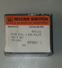 Honeywell / Microswitch PTY2311 Emergency Stop Push Pull Button Switch 120V NEW