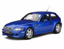 BMW Z3 M Coupe 3.2 Baujahr 1999 estoril- blue 1:18 OT318 OttO-mobile