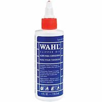 WAHL CLIPPER OIL 3310 118.3ML 4 FL OZ FOR ELECTRIC HAIR TRIMMER CLIPPERS