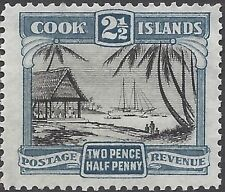 Mint No Gum/MNG Cook Islander Stamps