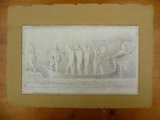 ORIGINAL, ANTIQUE 1834 'HB'  SATIRICAL LITHOGRAPHIC PRINT, HB LITHOGRAPH. No 359