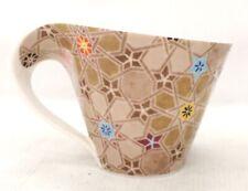 1x VILLEROY & BOCH Germany Made Multicolour STAR Detail PORCELAIN Mug - K25