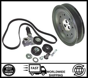 FITS FOR Ford Mondeo Mk3 2.0 2.2 TDDi TDCi [2000-2007] Crankshaft Pulley Kit
