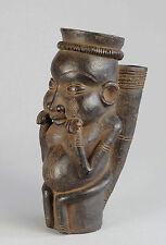 Pipe terre cuite Cameroun Cameroon clay terracotta Bamoun Bamileke Tikar Bangwa
