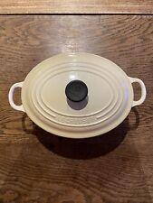 Le Creuset casserole Oval Casserole Dutch Oven Size 23 New With Label