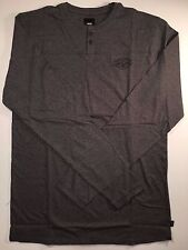 VANS New Lindmar Long Sleeve Henley Shirt Men's Medium
