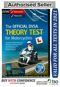 The Official DSA DVSA Theory Test DVD for Motorcyclists 2021 Motorcycle*mtrdv