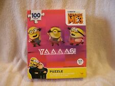 New 100 Piece Dispicable me 3 Minions Yaaaas Puzzle