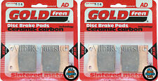Suzuki GS 550 Front & Rear Sintered Brake Pads 1983 Onwards - Goldfren - GS550