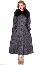 Plus Size Full Length Button Coats & Jackets for Women