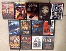 Lot of 13 DVD' Movies Midnight Horror, Resident Evil, Dark Knight and more