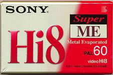 Sony E6-60hme Hi8 Metal Evaporated Tape 60 Minutes