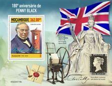 Mozambique - 2020 Penny Black Anniversary - Stamp Souvenir Sheet - MOZ200119b