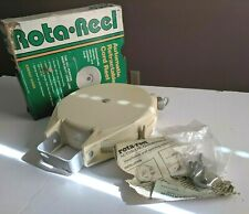 Rota Reel Automatic Retractable Cord Reel with Mounting Hardware 40 Ft Vintage