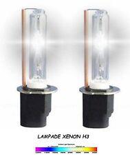 COPPIA LAMPADE FARI XENON H3  6000 K RICAMBI AUTO MOTO 35W XENON LAMPADINE
