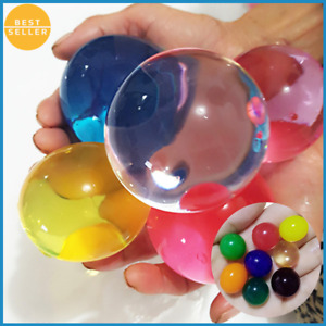 100PCS Large Jumbo Giant Orbeez Magic Garden Water Beads Aqua Balls Big Hydrogel