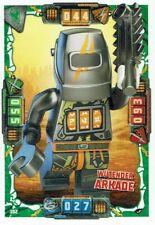 Lego Ninjago Serie 4 TCG Sammelkarten Karte Nr. 102 Wütender Arkade