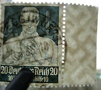 Germany Nazi 1934 Stamps Used Agricultural Chemist WWII Third Reich Deutsches Re
