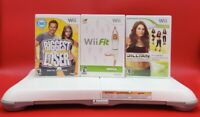 Nintendo Wii Fit Balance Board Wii Bundle Lot Games Clean/Tested