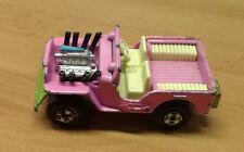 Matchbox Lesney Superfast No 2 Jeep Hot Rod 1971 Pink