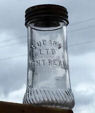 Scarce pint size SUGARS LTD MONTREAL fruit canning jar FREE SHIPPING!