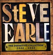 Steve Earle - Definitive Collection 1986 - 1992 [New CD] UK - Import