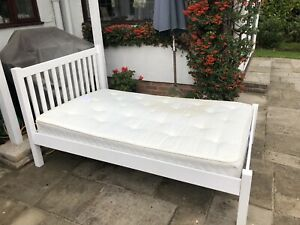 John Lewis Small Double Mattress & Bed Frame