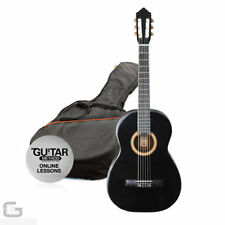 Guitarras clásicas y españolas negro
