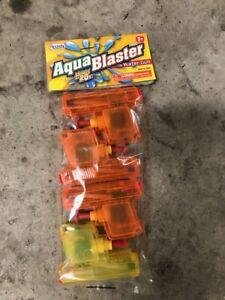 4 x Kids Toy Squirt Water Pistol Gun Super Streaming Shoots Squirter Summer