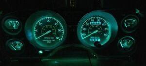 79-86 Ford Mustang Mercury Capri Gauge Cluster LED Upgrade Kit BLUE
