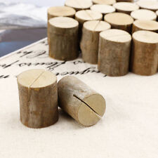 Articles d'arts de la table en bois pour le mariage