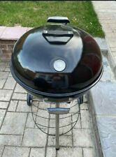 More details for new (used once) kamino kettle bbq - charcoal grill / wheels, adjustable air