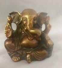 Ganesha Heavy Statue Long Ears Ganesh elephant face god hinduism brass statues