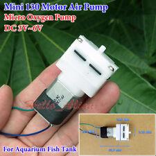 DC 3V 5V 6V Small Mini 130 Air Pump Oxygen Pump for Aquarium Water Fish Tank DIY