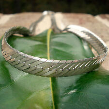 Necklace - Herringbone chain necklace solid 925 sterling silver