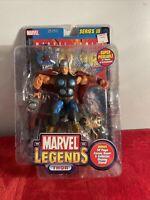Marvel Legends Thor Series 3 2002 Toy Biz Action Figure w/ Comic Book New