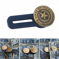 5pcs jeans rétractable bouton réglable étendu détachable bouton pour pantalon