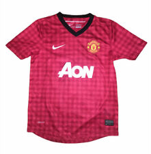Nike Dri Fit Manchester United Wayne Rooney Football Jersey Sz Youth Medium