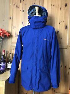 419 Mens Berghaus Jacket / Coat M Waterproof Blue Gore-Tex gortex
