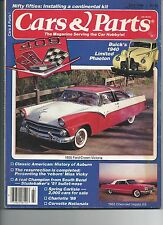 Cars & Parts  Magazine July 1988 1955 Ford Crown Victoria
