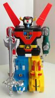 """Voltron Lion Force Computer Control Motorized Robot Box 11"""" Tall Battery Operate"""