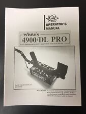 Operators Manual For Whites Coinmaster 4900/DL PRO