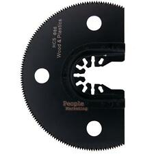 100mm HCS Segment Saw Blade Oscillating Multifunction Wood Cutting Power Tool