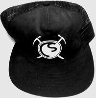ColdSmoke Baseball Cap/Hat Black with Adjustable Back Strap NEW
