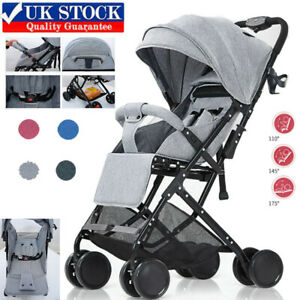 Foldable Baby Strollers Kids Buggy Lightweight Travel Carry Baby Pushchair UK